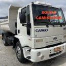 Ford Cargo 1317 Ano 2009 Caçamba